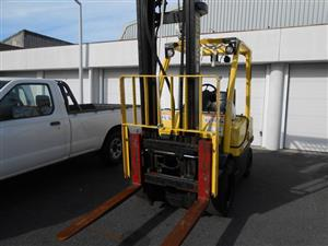 Hyster Forklift - on an on-site auction