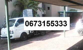 Furniture removals bakkie 0673155333