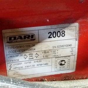 Dari air compressor for sale