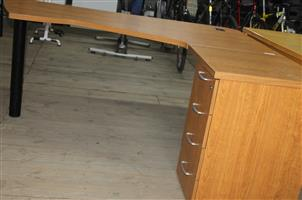 Desk with drawers S031952C #Rosettenvillepawnshop