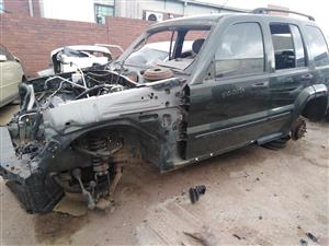 Jeep Cherokee stripping for parts