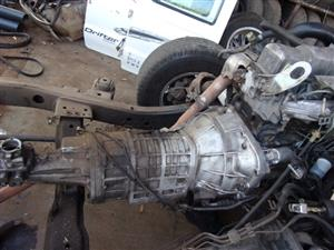 Mazda Drifter B2500 Gearbox Used Part for Sale