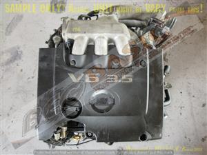 NISSAN VQ35 3.5L V6 DOHC 24V FWD Engine -MURANO