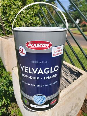 Plascon Velvaglo - White - (6L