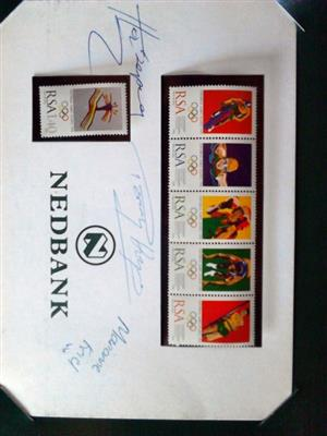 Olympic Collector Series Limited Edition Stamps