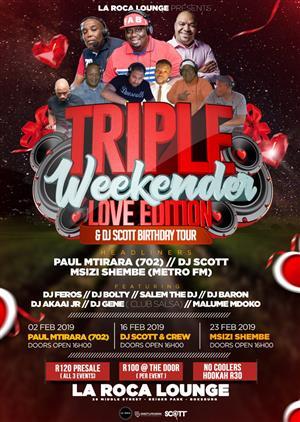 Triple Weekender