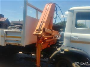 "Ford ""D"" Series Truck with crane - To swop for a Bobcat / Mini Excavator"