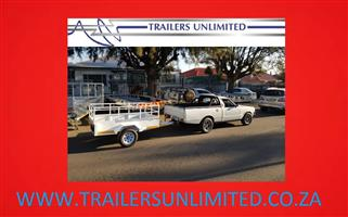 TRAILERS UNLIMITED CUSTOM BULT UTILITY TRAILERS TO YOUR REQUIRED SIZE.