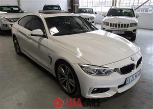2016 BMW 4 Series 420d Gran Coupe M Sport sports auto