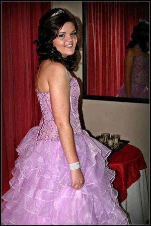 Italian matric dress and accesories for sale