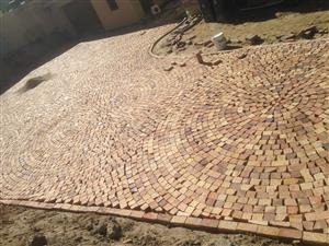 HALF BRICK PAVING(FIX AND SUPPLY)