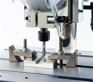Bench Type Milling Machines  reversable motor allows for milling and tapping 40mm and 32mm