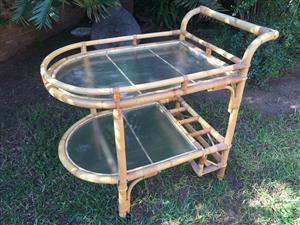 Cane Tea Trolley