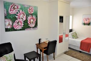 William - Fully Furnished Self-Catering Bachelor Apartment to Let in Brooklyn Pretoria East