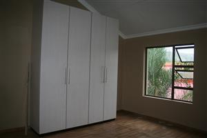 DUPLEX Spacious newly built 2 bedroom ,open plan duplex to let.full bathrooms upstairs and guest toilet downstairs.please contact Dolf Storm 0828943660.Available 1June2019