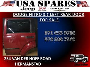 DODGE NITRO USED LEFT REAR DOOR FOR SALE
