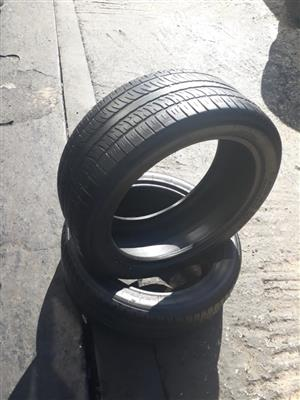 275/35R22 & 275/40R21 Second Hand Passenger Tyres For Sale