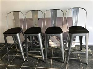 4x Cielo bar chairs