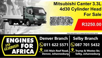 Mitsubishi Canter 3.3D 4D30 Cylinder Head For Sale
