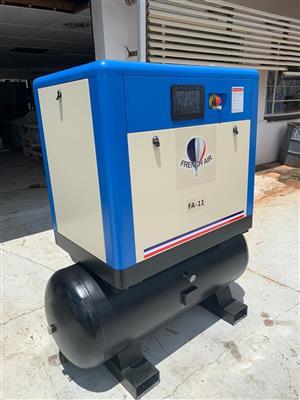 Screw Compressor, FRENCH AIR, FA-11S, 11kW, 53CFM, 1.5m³/min