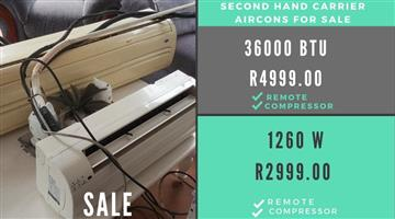 Aircons for SALE - Second Hand
