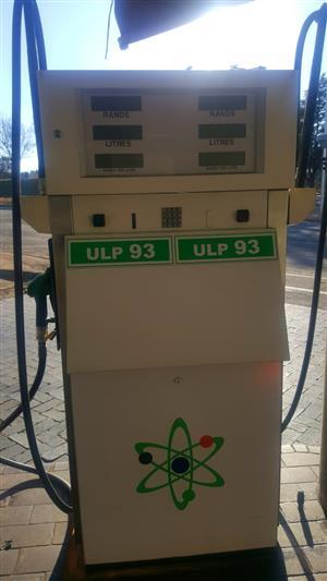 Duel Fuel Pump For Service Station