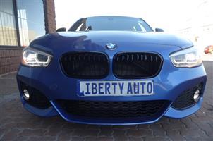 2016 BMW 1 Series 118i 5 door M Sport auto
