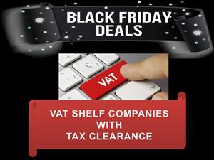 VAT SHELF COMPANIES WITH TAX CLEARANCE / PIN - R7500