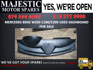 Mercedes benz w203 c180 c200 used dashboard for sale