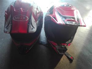 Red max helmets for sale