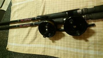 Magnum Centre Pin x2 Plus Conoflex 10ft x2