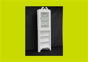 Painted Victorian Corner Cabinet - SKU 384