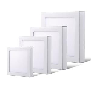 LED Ceiling Lights: Surface-Mount Panel Type complete with Fittings and Driver/PSU.