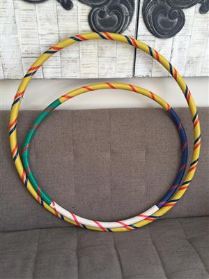Large and small Hoola Hoops for kids and adults!