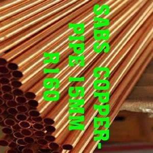 SABS COPPER PIPE 15MM