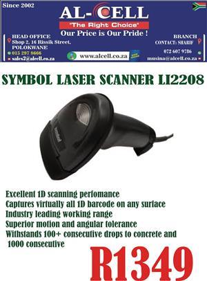 Symbol Laser Scanner LI2208