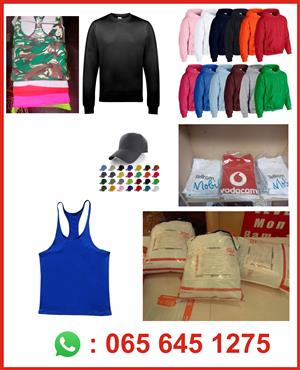 Corporate Gifts, Corporate Wear, Promotional Items, T-shirts, Hoodies, Golf shirts