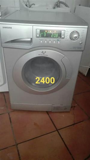 Drive washer dryer