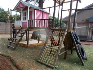 Doll Houses, Swings And Jungle Gyms