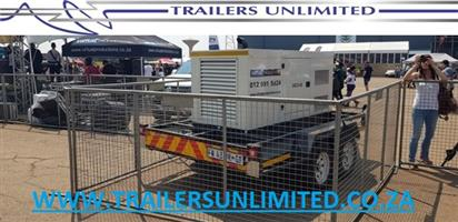 TRAILERS UNLIMITED GENERATOR TRAILERS. SINGLE AND DOUBLE AXLES.