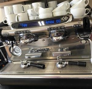 2 GROUP PRO COFFEE MACHINE - FAEMA