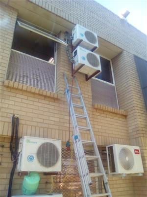 Commercial & Residential Aircons Supply, Installation,Relocation, Upgrades call 0118752140