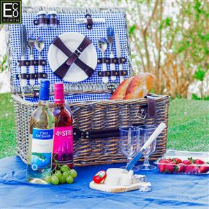 WBC01 – 4 PERSON WICKER PICNIC BASKET-fantastic gift for someone special