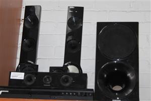 Samsung 5.1 surround sound with remote S032311A #Rosettenvillepawnshop