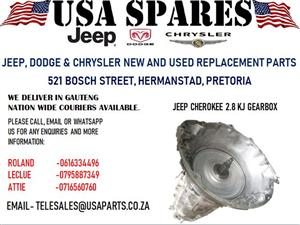 JEEP CHEROKEE 2.8 KJ GEARBOX (FOR SALE)