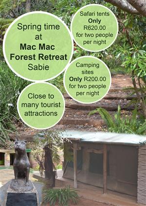 Mac Mac Accommodation Sabie