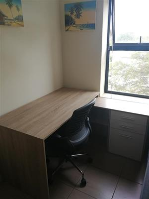 Corner desk for sale.