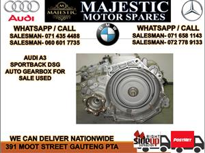 Audi A3 DSG auto gearbox for sale