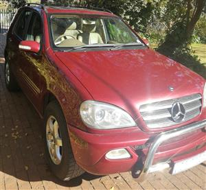 2002 Mercedes Benz ML 500