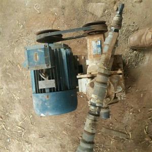 5.5kw pump + notor